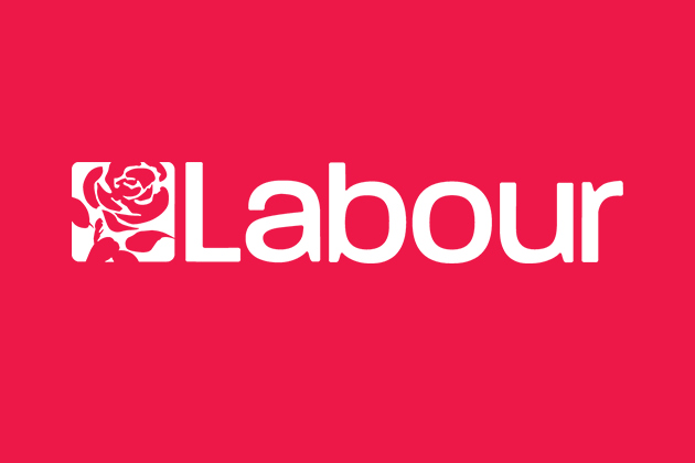 Graphic with the Labour Party logo. Credit: The Labour Party UK