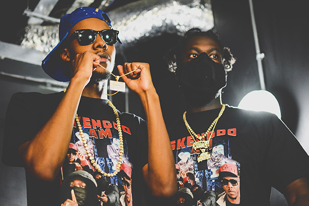 Drill rappers Skengdo x AM (Terrell Doyley and Joshua Malinga)