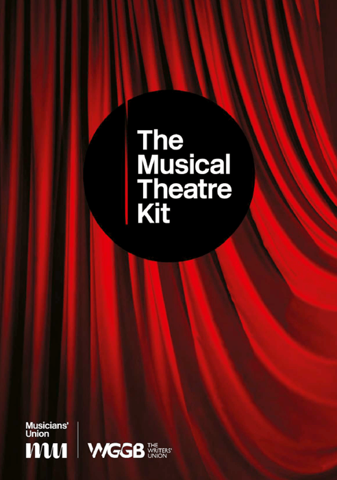 Cover of the Musical Theatre Kit, featuring MU and WGGB logos